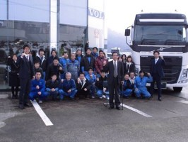 ボルボトラック販売 丸栄自動車株式会社の仕事イメージ