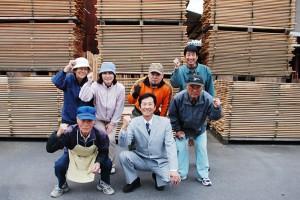 マルウメ梅江製材所株式会社の仕事イメージ